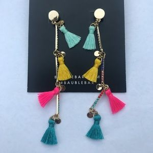 Bauble bar cute fringe earrings